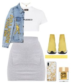"""""""Jan/11/18"""" by codeineweeknds ❤ liked on Polyvore featuring Untitled & Co, Balenciaga, Too Faced Cosmetics and Rebecca Minkoff"""