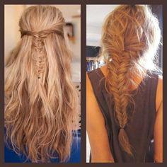Hair. Braid