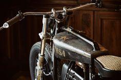 Stunning Sigrid: A most unusual BMW from Titan Custom Motorcycles, Custom Bikes, Cars And Motorcycles, Bmw, Motorcycle Workshop, Motorcycle Companies, Vintage Bikes, Bike Design, Road Bikes
