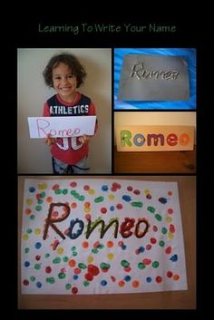 Cute ways to write your name on paper