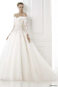 Pronovias 2015 Pre-Collection Wedding Dresses — Glamour Bridal Collection | Wedding Inspirasi