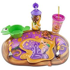 Rapunzel Meal Time Magic Collection  @Juniper Lee You said you would never have kids but I honestly think you would use this on your own.