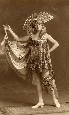 Very exotic dress by lovedaylemon on Flickr.