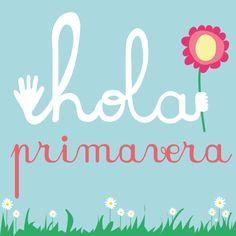 Hola a las tardes largas de sol, a las flores en el campo, las terracitas,los grillos cantando, los colores... Bienvenida Primavera!