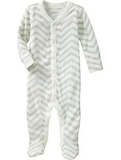 Love this onesie-- could add a flower on it if it's a girl, but it's perfect for a little boy just the way it is.