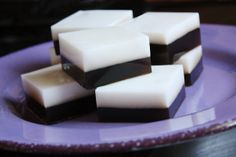 coconut and chocolate agar agar