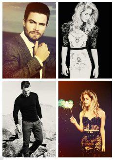 Stephen Amell & Emily Bett Rickards #Arrow