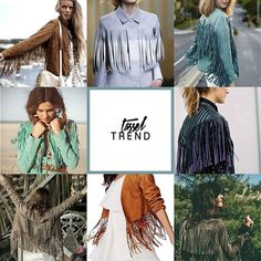 Tassel Trend: Suede meets leather, this season. Which style is your fav? Tassel, Ruffle Blouse, Seasons, Photo And Video, Leather, Instagram, Tops, Women, Style