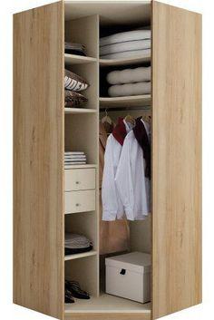 petit dressing en angle Dressing Angle, Modern Closet, Kids Bedroom Designs, Studio Apt, Home Decor Kitchen, Wood Furniture, Cupboard, Sweet Home, Storage