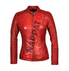 Lady Biker Red