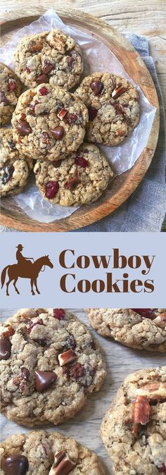Healthier Cowboy Cookies. A wholesome treat.
