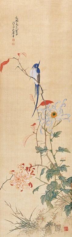 清-居廉绘画作品欣赏
