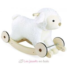 Wooden Rocking Sheep Vilac Children- A large selection of Toys and Hobbies on Smallable, the Family Concept Store - More than 600 brands. Waldorf Toys, 2 In, Baby Room, Sheep, Children, Kids, Hobbies, Nursery, Baby Shower