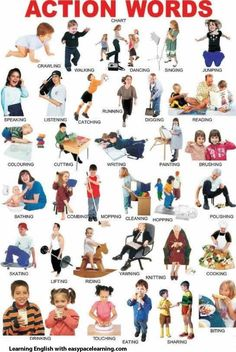 vocabulario: verbos de acciones