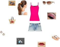 """Keeping Cool"" by softballcutie12400 on Polyvore"