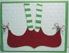Elves shoes, using the top note die and big shot, love it!