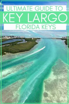 "Ultimate guide to Key Largo Florida Keys - Key Largo is the first city of the Florida Keys, you could say its the unofficial ""grand entrance"" to one of Americas best road trip destinations. Our Key Largo travel guide outlines the best resorts, hotels, sp Florida Travel Guide, Florida Vacation, Florida Beaches, Florida Keys Honeymoon, Florida Keys Hotels, Islamorada Florida, Key Largo Florida, The Florida Keys, Miami To Key Largo"