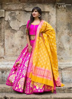 colour combos pink n yellow