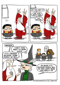 Quirky Harry Potter Comics That Reveal A Special Side Of Albus Dumbledore - Memebase - Funny Memes Dumbledore Comics, Harry Potter Comics, Harry Potter Jokes, Albus Dumbledore, Harry Potter Fandom, Harry Potter Universal, Harry Potter World, Hogwarts, Lily Potter
