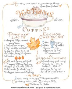 Hot Toddies | Susan Branch Blog