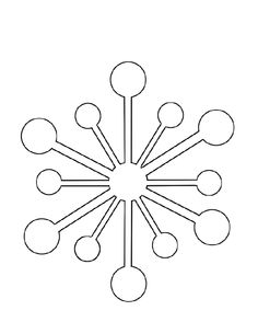 I have download Snowflake Shaped Like Rounded Coloring Page