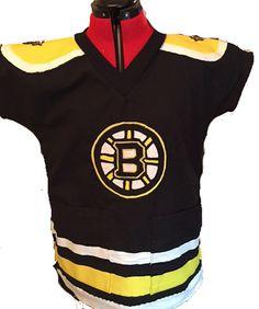 Made to order AnY SpOrT TEAM Nurse Boston Bruins hockey nursing Veterinary uniform jersey scrub scrubs top Women's Men's custom sizes styles