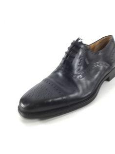 d1b5b9e13a2 2118c Magnanni Black Leather Cap Toe Oxfords Men Size 10 M  fashion   clothing
