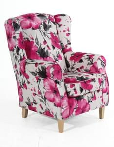 Max Winzer Lorris Ohrenbackensessel - Farbe: rot - Maße: 77 cm x 86 cm x 103 cm; 2900-1100-1643823-F01 Max Winzer, Seat Cushions, Recliner, Sofas, Accent Chairs, Armchair, The Originals, Design, Furniture