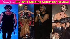 Even Shahid Kapoor, Anushka Sharma and Hrithik Roshan couldn't save IPL 2015 opening ceremony from becoming a FLOP SHOW! #ShahidKapoor
