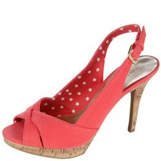 Womens Christian Siriano for PaylessWomen's Letoile Peep Toe Sling