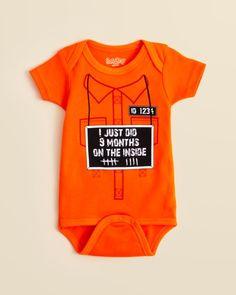 Sara Kety Infant Unisex 9 Months Bodysuit - Sizes 0-18 Months