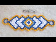 Crochet Patterns For Beginners, Friendship Bracelets, Beaded Bracelets, Youtube, Stitch, Quilts, Farmhouse Rugs, Embellishments, Bedspreads