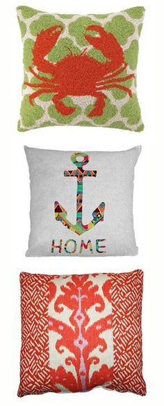 nautical pillows!
