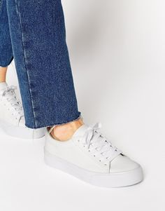 Image 1 of ASOS DALLINGTON Lace Up Trainers