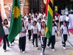 Área Metropolitana, Bucaramanga: Inauguración de los juegos Inter-colegiados e Inte...