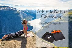 Athletic Nature - Win a $1,000 Amazon Gift Card - http://sweepstakesden.com/athletic-nature-win-a-1000-amazon-gift-card/