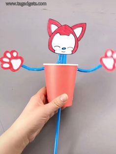Gardens Discover Crafts for kids / paper cups / straws Easy Diy Crafts Diy Crafts Hacks Diy Crafts For Kids Diy Home Crafts Creative Crafts Fun Crafts Craft Stick Crafts Gifts For Kids Craft Activities Paper Crafts For Kids, Craft Activities For Kids, Preschool Crafts, Easter Crafts, Projects For Kids, Diy For Kids, Diy Projects, Indoor Activities, Campfire Crafts For Kids