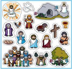 Magnet Set (Easter Story)