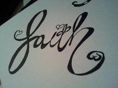 faith tattoo idea by ~virg on deviantART