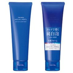 Shiseido AQUALABEL Face Wash | White Clear Foam 130g by AQUALABEL. $21.00