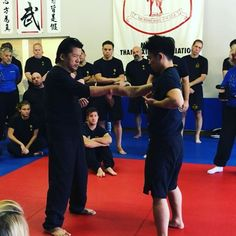 Sifu Francis Fong teaching today at the FFIA Camp.