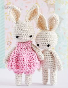 A step-by-step crochet pattern – baby bunny ears – CrochetObjet by MoMalron