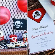 pirate party collection for hgtv.com by the tomkat studio