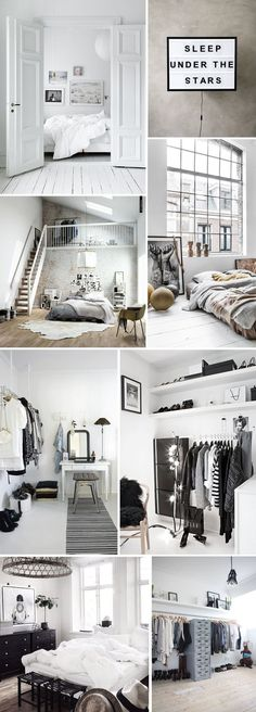 Check out this Home Decoration Ideas: Beautiful minimalist monochrome interior design inspiration. The post Home Decoration Ideas: Beautiful minimalist monochrome interior design inspirati… appeare . Interior Modern, Monochrome Interior, Bohemian Interior, Color Interior, Design Interior, Dream Rooms, Dream Bedroom, My New Room, My Room