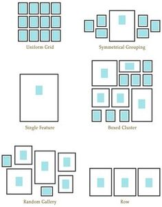 51 Ideas for wall gallery layout hanging frames Hanging Frames, Frames On Wall, Wall Collage, Cadre Photo Mural, Photowall Ideas, Gallery Wall Layout, Photo Wall Layout, Photo Wall Design, Picture Layouts