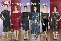 US Weekly, Ferragamo Fan Fever