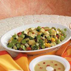 Fiesta Chopped Salad Allrecipes.com