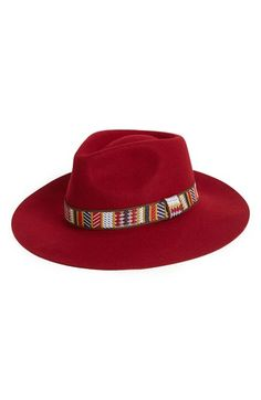 Free shipping and returns on Sole Society Wide Brim Wool Fedora at Nordstrom.com. Put the final touch on a great outfit with a gorgeous autumnal-hued fedora that's versatile enough to go boho or glam in an instant.