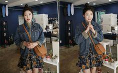 Vintage Floral Circle Skirt (DFTQ) shop from 66girls.us! #66girls #kstyle #kfashion #koreanfashion #girlsfashion #teenagegirls #fashionablegirls #dailyoutfit #trendylook #globalshopping