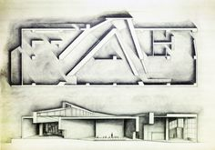'Chicago Aesthetics Library Project' Matthew Darmour-Paul. 2012. 18 x 24 graphite.